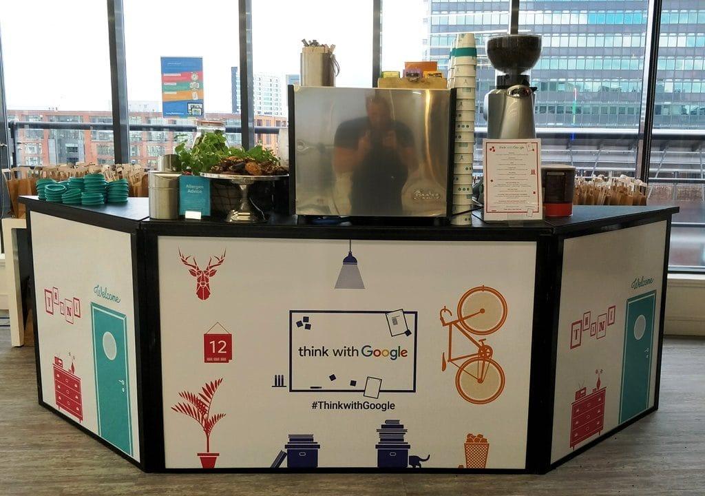 Google coffee bar