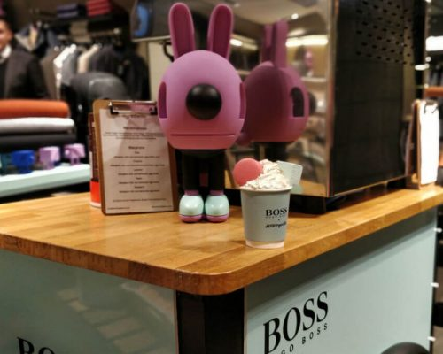 hugo boss hot chocolate promotion